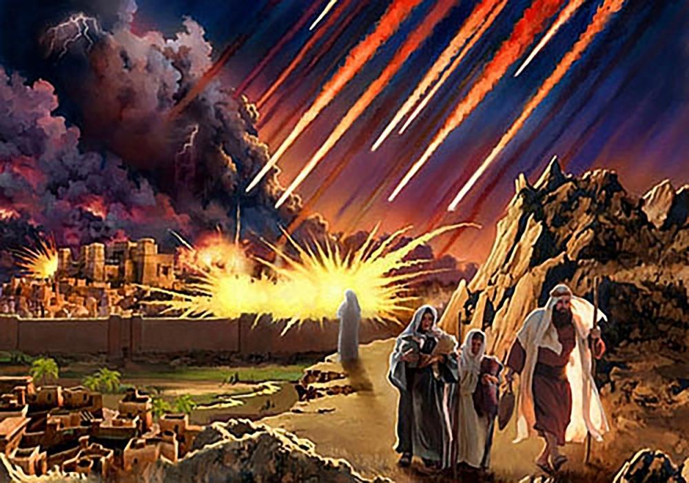 Картинки по запросу destruction of sodom and gomorrah